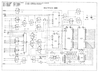 Multiface One schematic